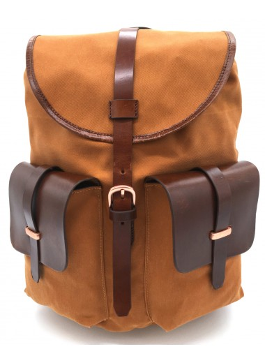 small functional backpack MIMO SAFARI RUST