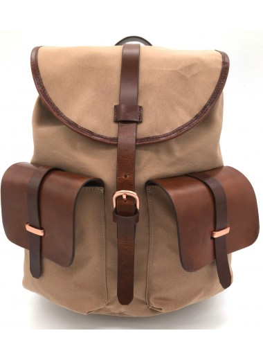 lady backpack for digital tablet MIMO SAFARI beige